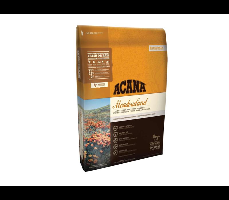 Acana Meadowlands Cat Dry Food 12lbs