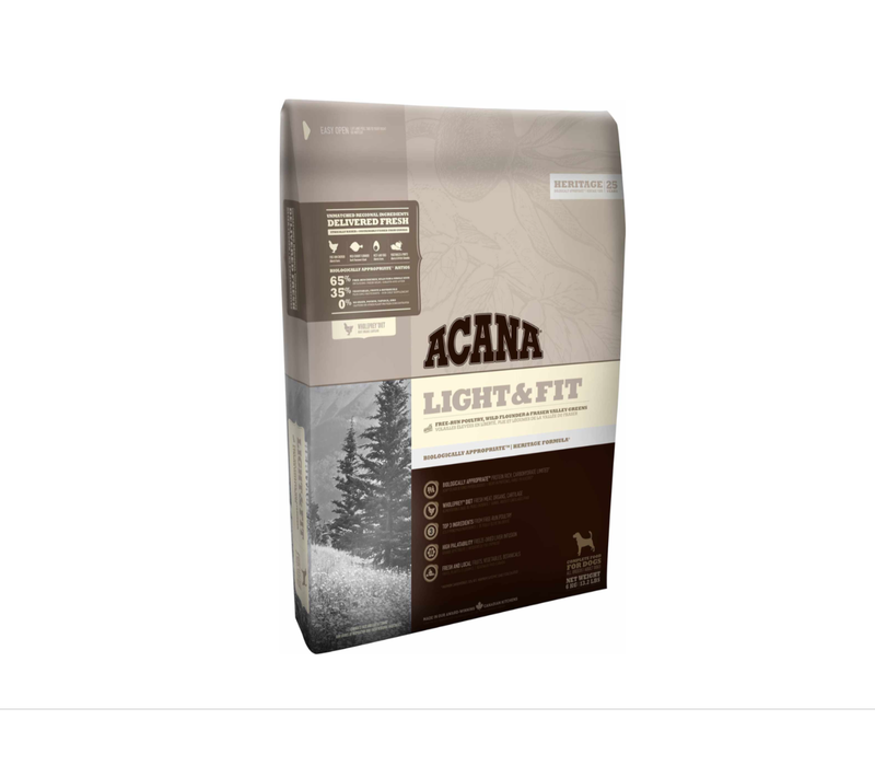 Acana Heritage Light and Fit 25#