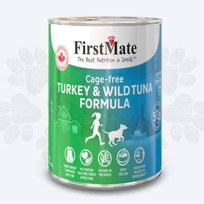 First Mate First Mate 50/50 Turkey Tuna Dog 12.oz