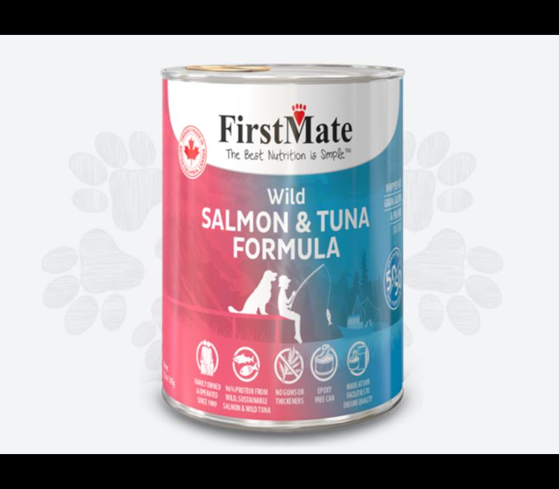 First Mate 50/50 Salmon Tuna Dog 12.2oz