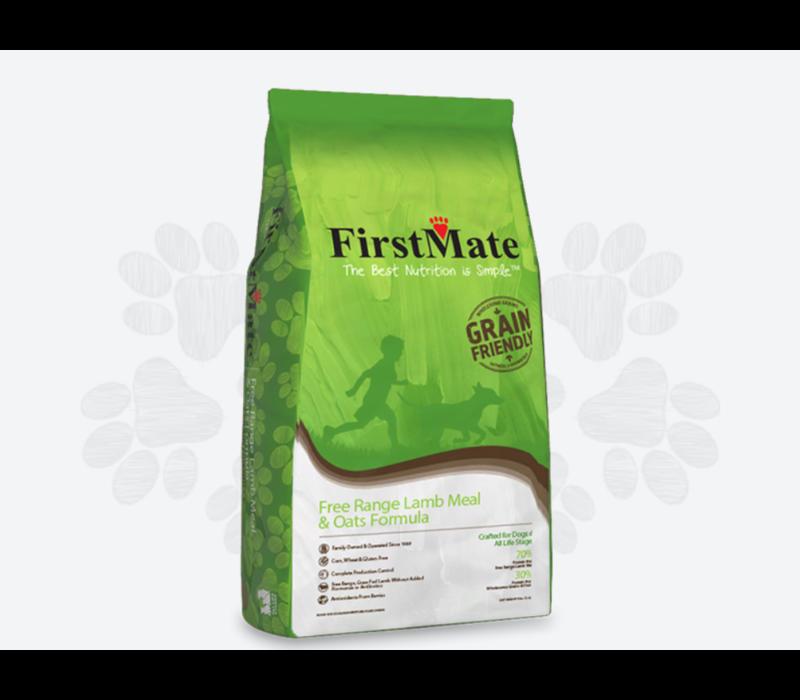 First Mate WG Friendly Lamb Oats Dog 5#