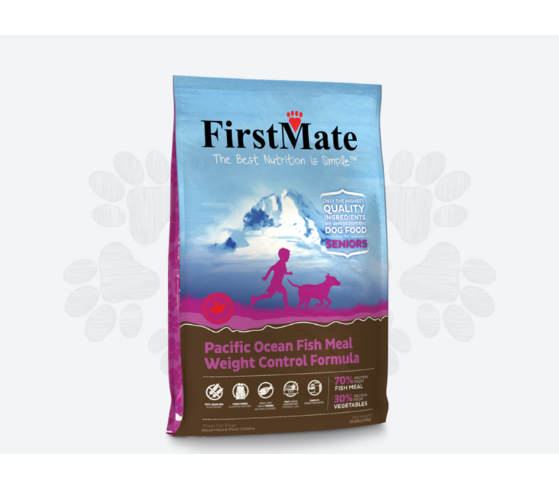 First Mate GF Fish Weight Senior Dog 5#