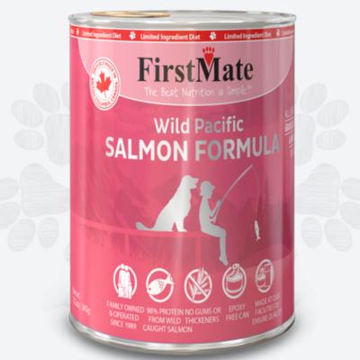 First Mate First Mate LID Wild Salmon Dog 12.2oz