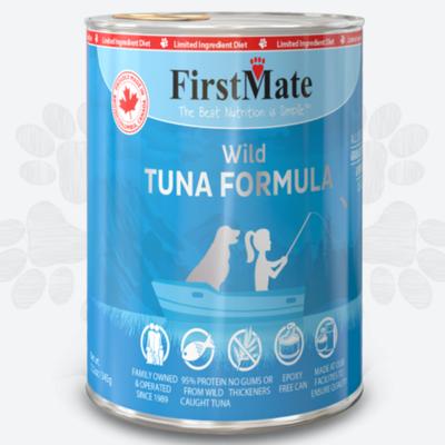 First Mate First Mate LID Wild Tuna Dog 12.2oz