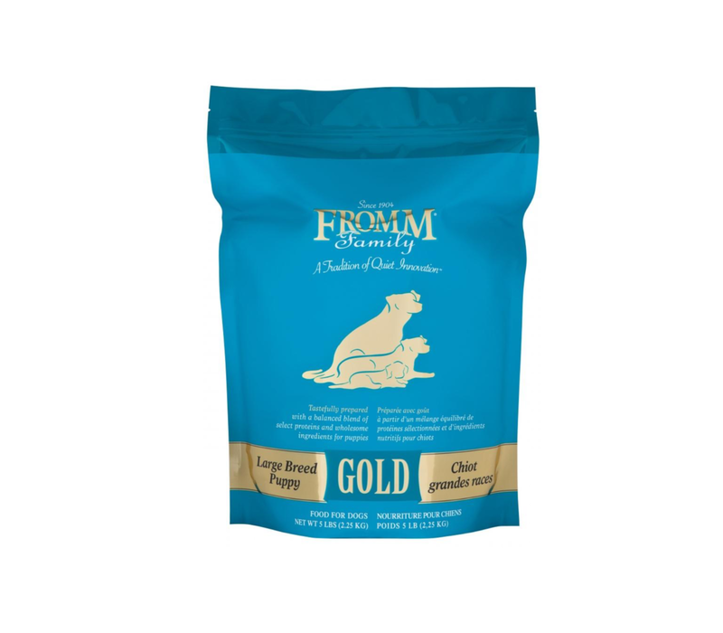 Fromm Gold Large Breed Pup 33lbs
