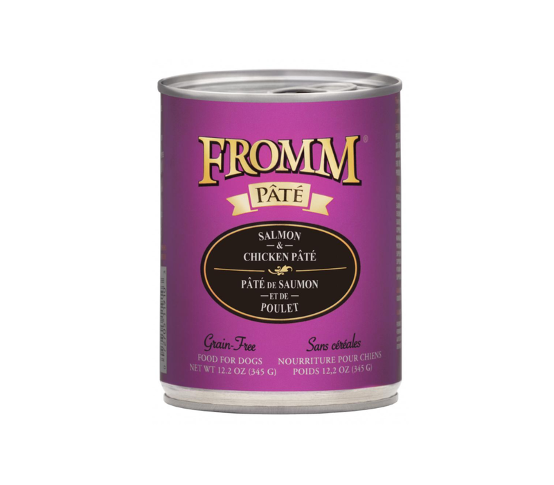 Fromm Gold Salmon Pate 12.2oz