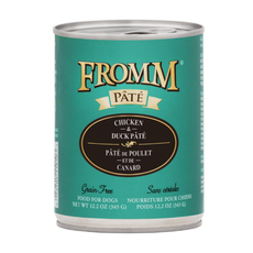 Fromm Fromm Gold Chix/Duck Pate 12oz