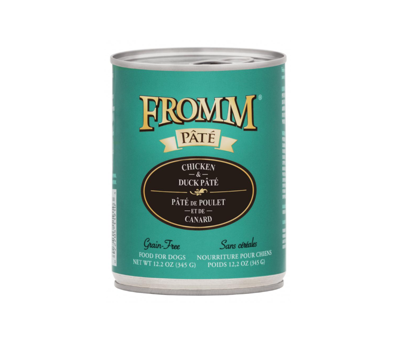 Fromm Gold Chix/Duck Pate 12oz