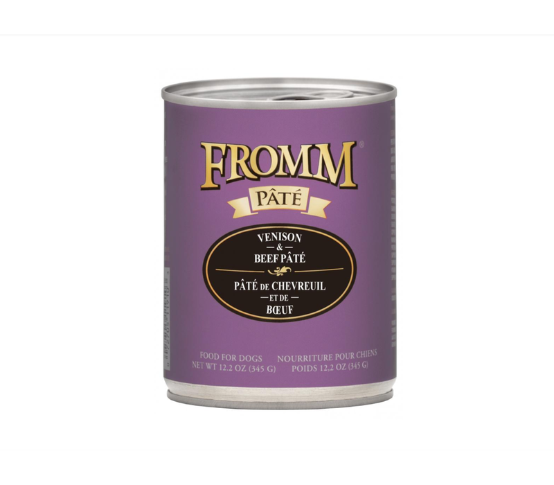 Fromm Gold Venison/Beef 12.2oz