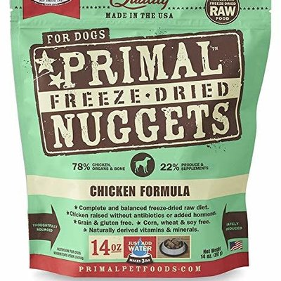 Primal Primal Freeze Dried FD Chicken 14oz