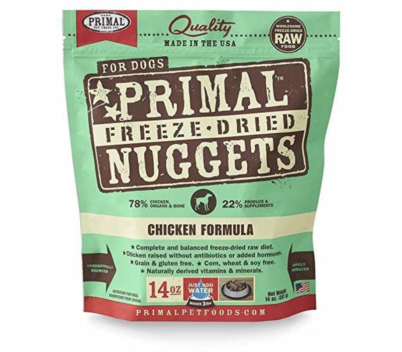 Primal Freeze Dried FD Chicken 14oz