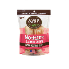 Earth Animal No Hide Salmon (2 pack/ 4 inch)