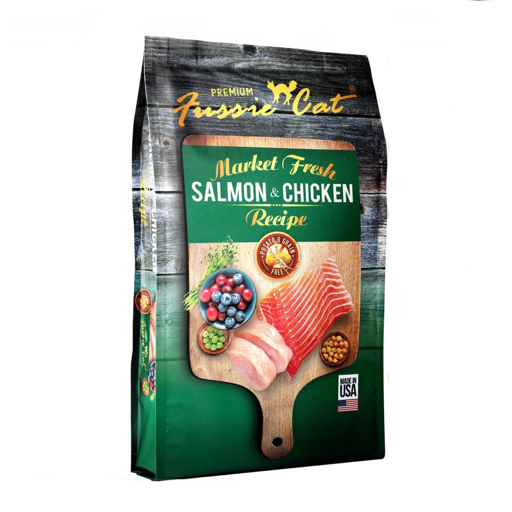 Fussie Cat Fussie Cat Salmon/Chicken 10#