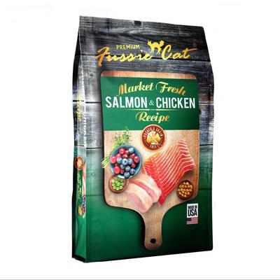 Fussie Cat Fussie Cat Salmon/Chicken 4#