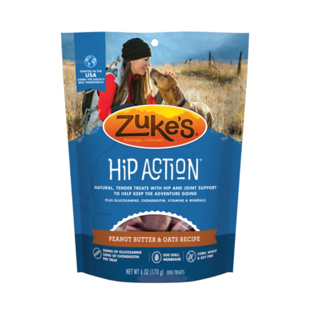 Zuke's Zuke's Hip Action Peanut Butter & Oats 6oz