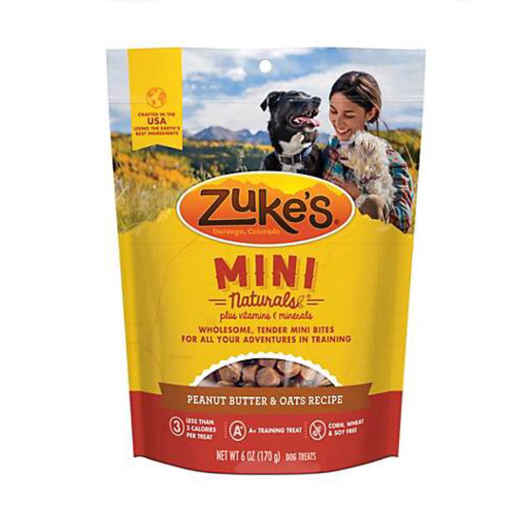 Zuke's Zuke's Mini Naturals Peanut butter 6oz