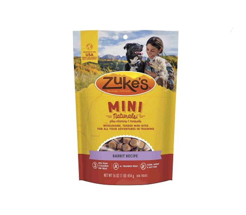 Zuke's Mini Natural Rabbit 6oz