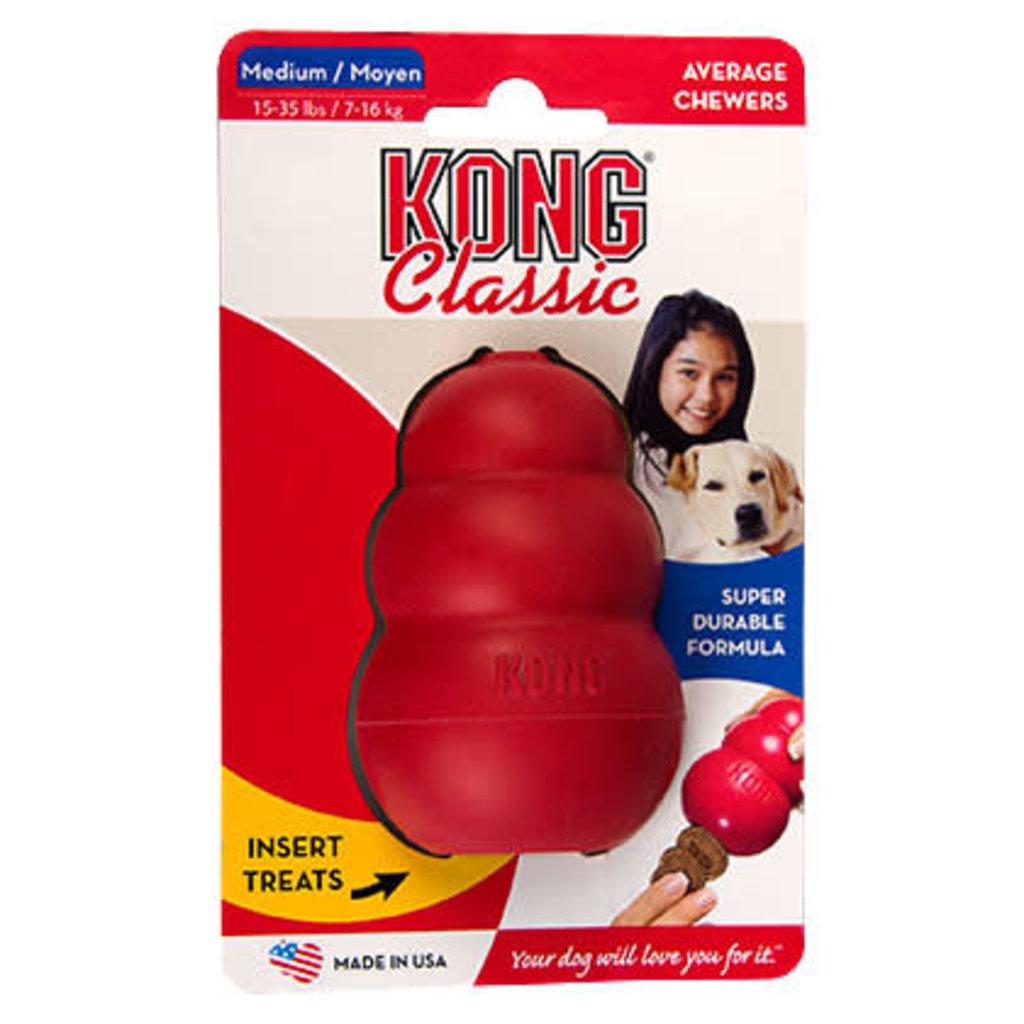 Kong Kong Classic Red Medium