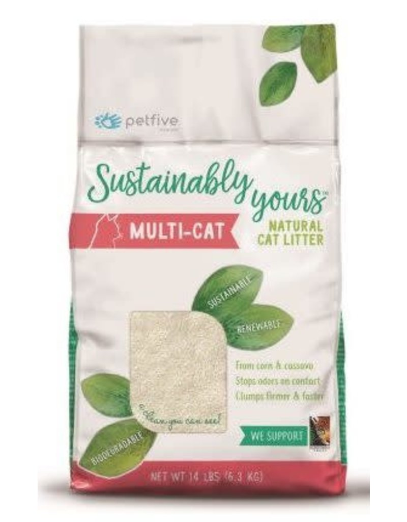 Sustainably Yours Sustainably Yours Cat Litter Nat Multi Cat 26#
