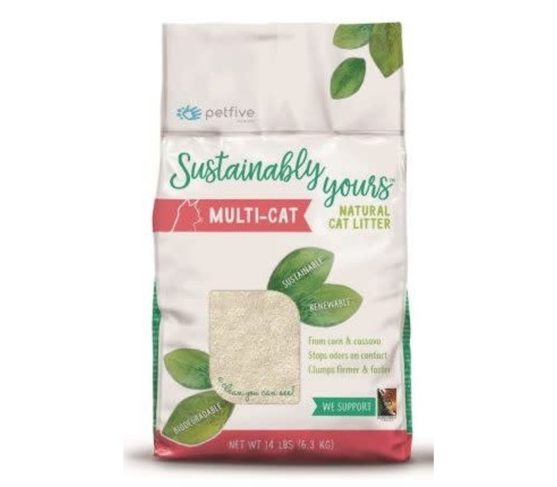 Sustainably Yours Cat Litter Nat Multi Cat 26#