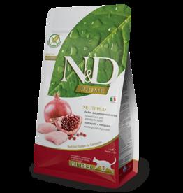 Farmina Farmina Neutered Chicken & Pomegranate Cat 11#
