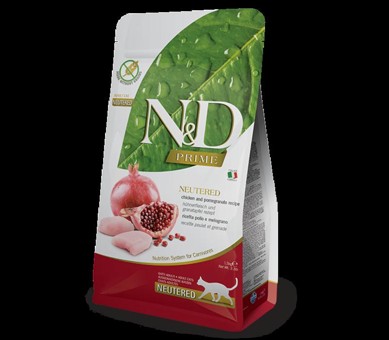 Farmina Neutered Chicken & Pomegranate Cat 11#