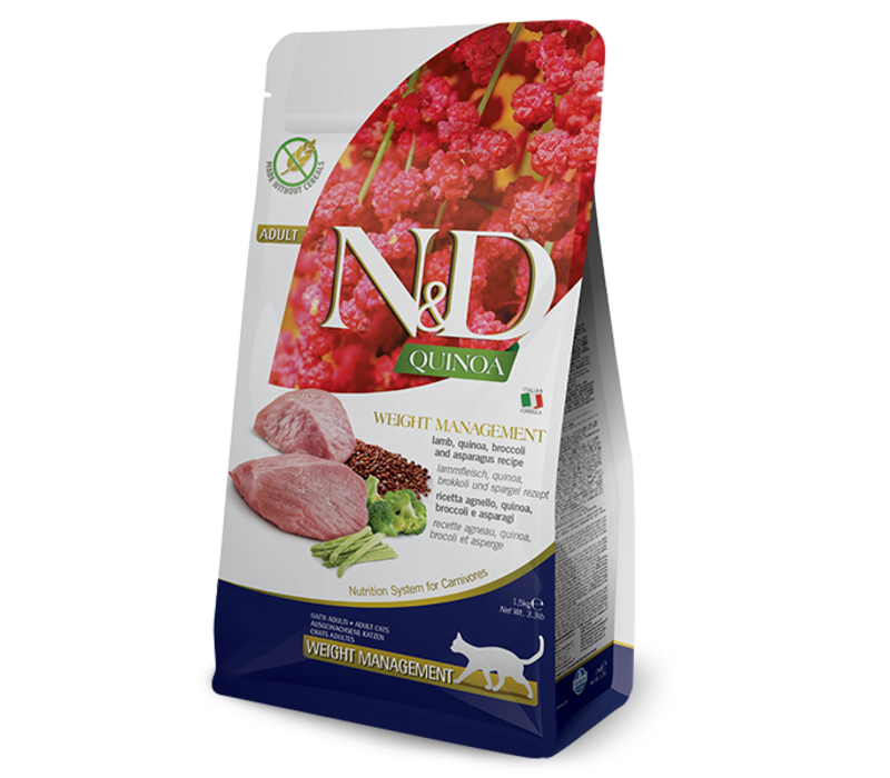 Farmina Cat Quinoa & Lamb Weight Management 3.3#
