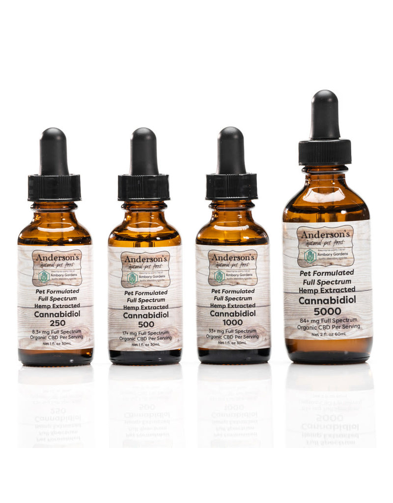 Anderson's Natural Pet Food Anderson's CBD Oil 1000mg