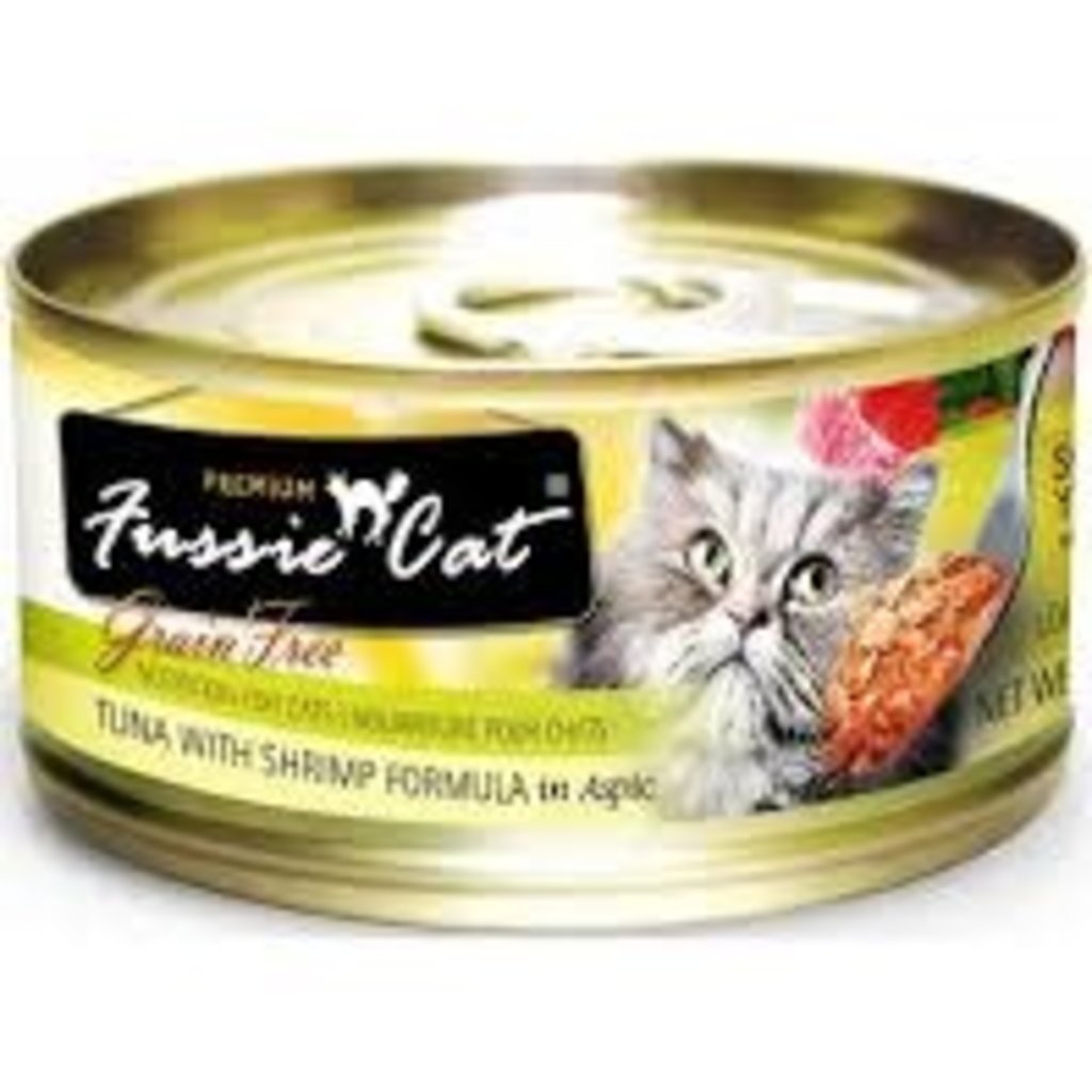 Fussie Cat Fussie Cat Tuna/Shrimp Can 2.8oz
