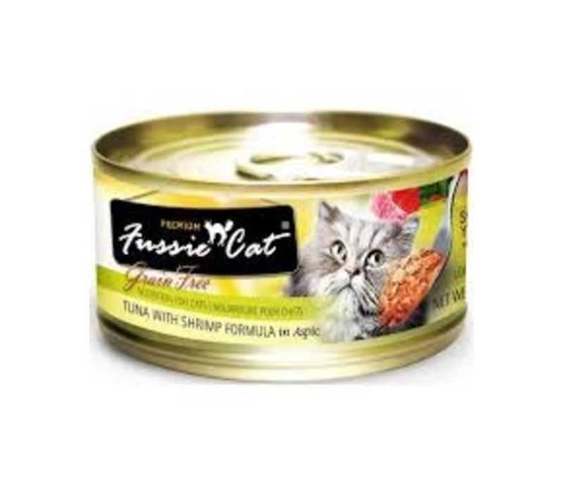 Fussie Cat Tuna/Shrimp Can 2.8oz