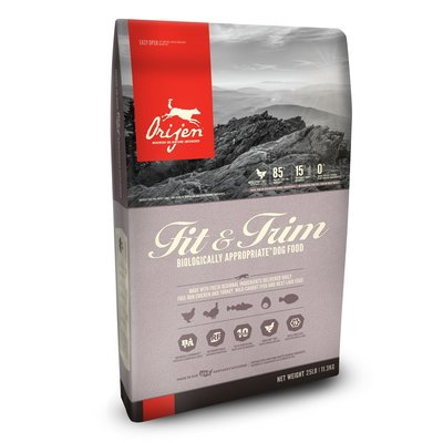 Orijen Orijen Fit & Trim Grain Free Dry Dog Food 25lbs