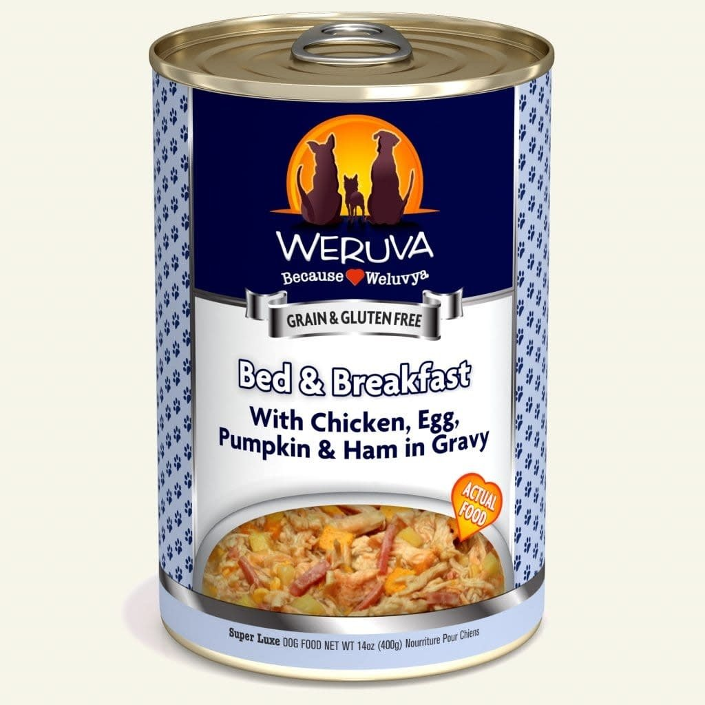 Weruva Weruva WRV Bed/Breakfast Dog 14oz