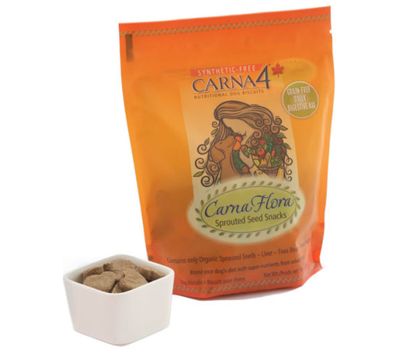 Carna4 Flora Sprouted Seed Snacks 16oz