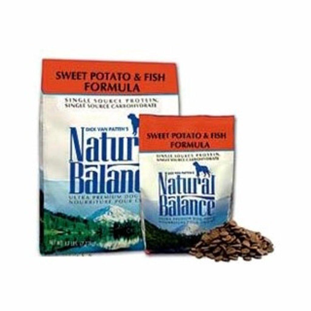 Natural Balance Natural Balance NB Potato & Fish 28 lbs