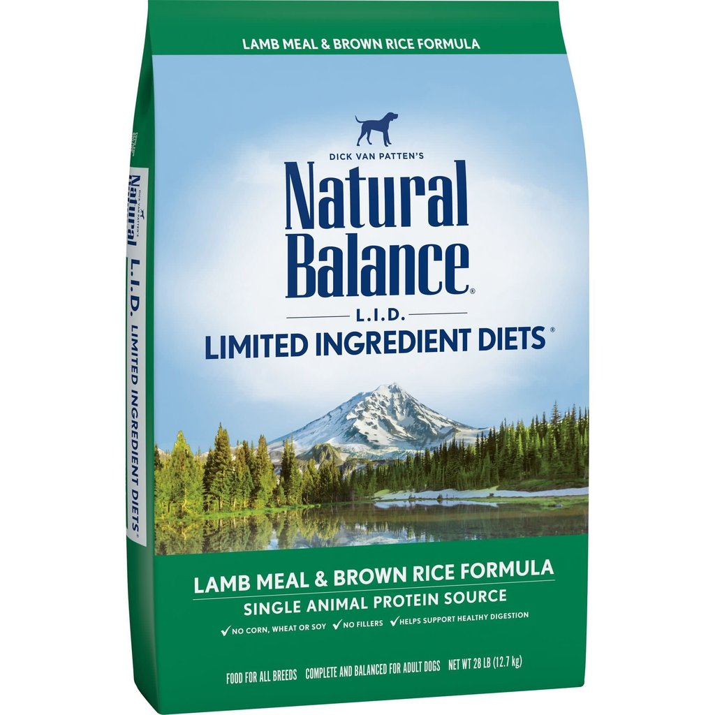 Natural Balance NB Lamb 28lbs