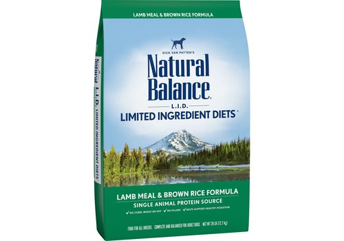 Natural Balance NB Lamb 28lbs