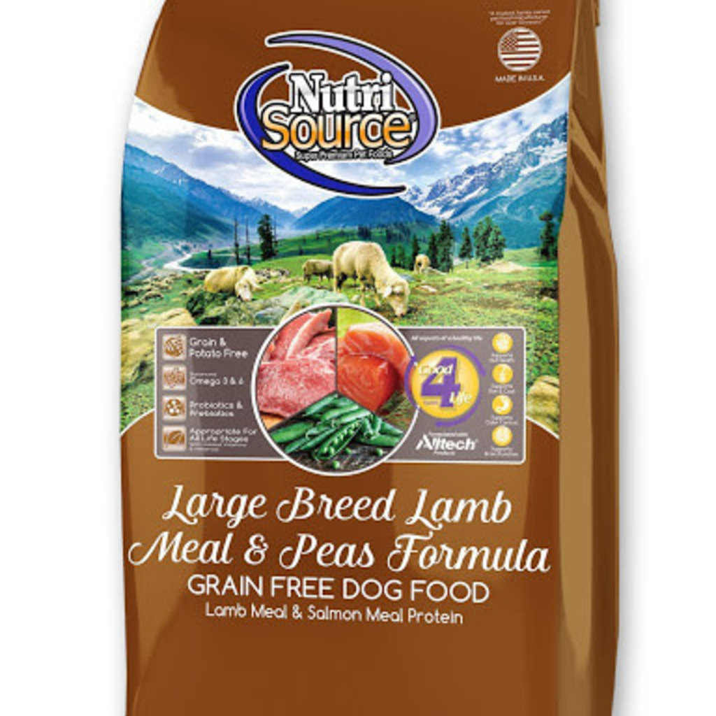 NutriSource NutriSource Grain Free Lamb Large Breed 30#