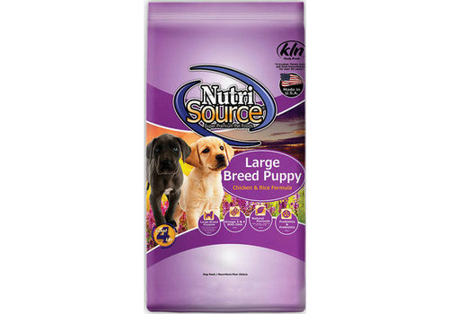 NutriSource NutriSource NS Large Breed Puppy Chicken/Rice 30#