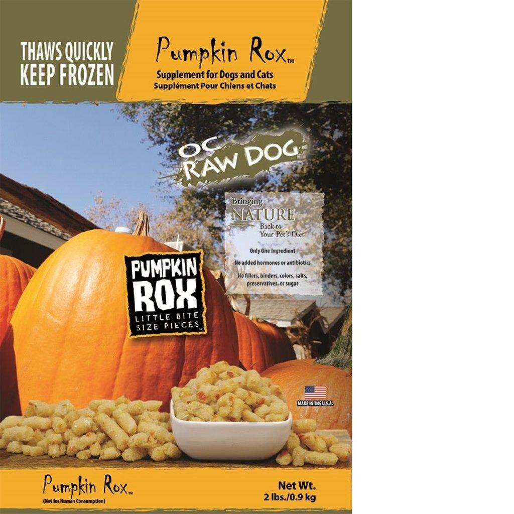 OC Raw Frozen OC Raw Pumpkin Rox 2#