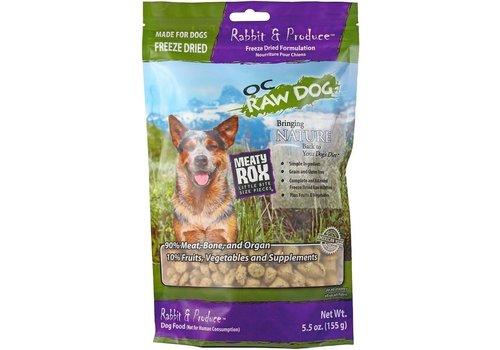 OC Raw OC Raw FD Rabbit Rox 5.5oz