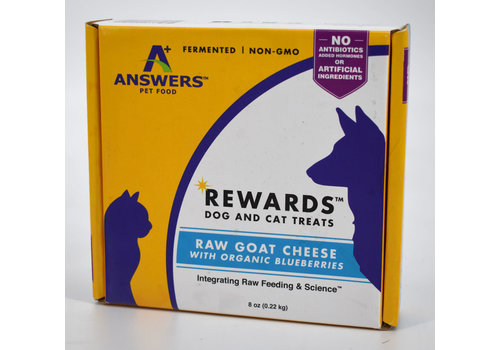 Answers Pet Food Answers Goat Milk Cheese w/Blueberries 8oz