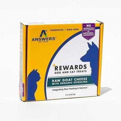Answers Pet Food Answers Goat Milk Cheese w/Spirulina 8oz