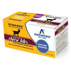 Answers Pet Food Answers Goat Milk Cheese w/Cranberries 8oz