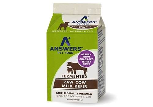 Answers Pet Food Frozen Answers Kefir 1 Pint