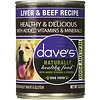 Dave's Pet Food Dave's Liver and Beef Dog 13oz