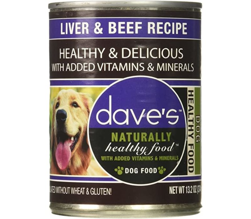 Dave's Liver and Beef Dog 13oz