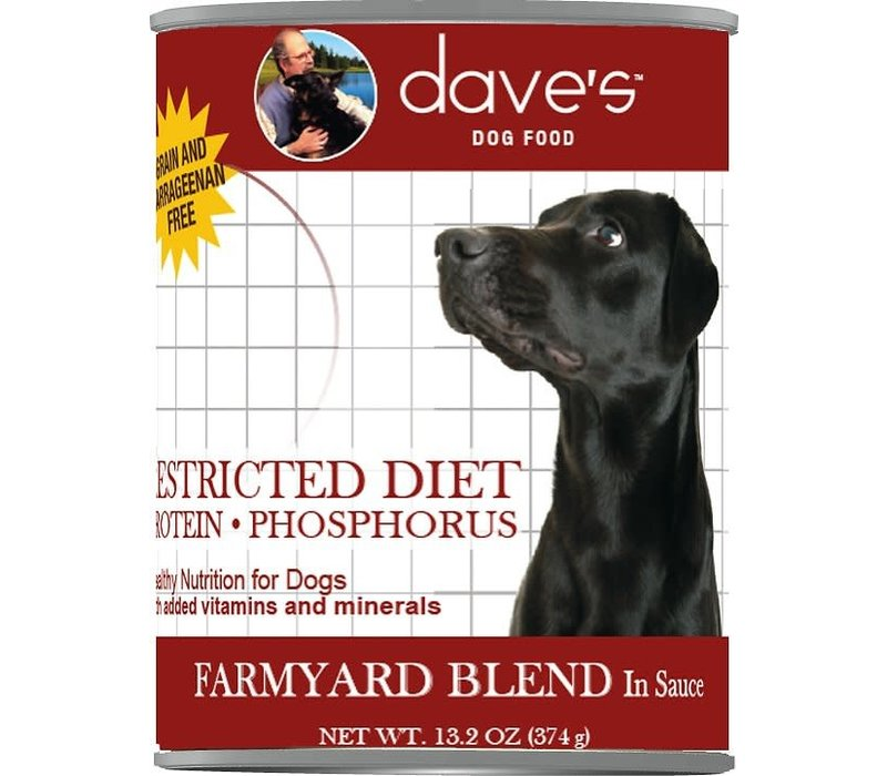 Dave's Res Diet Chix Dog 13oz