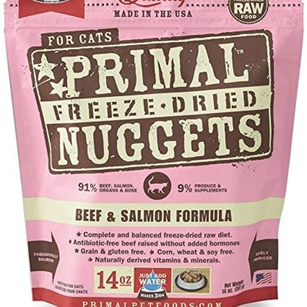 Primal Primal FD Beef/Salmon Cat 14oz
