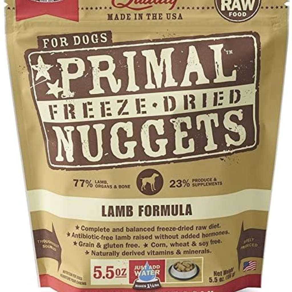 Primal Primal FD Lamb 5.5oz