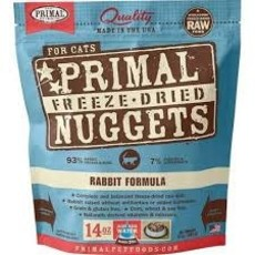 Primal Primal Freeze Dried Rabbit Cat 14oz